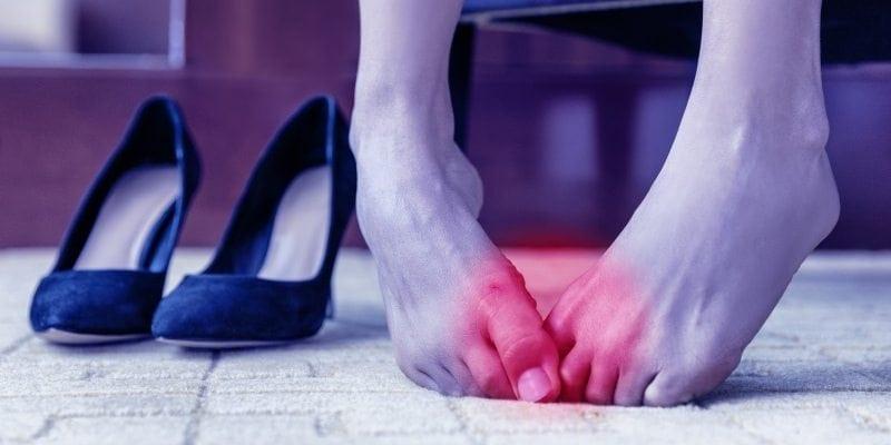Bunions high heels